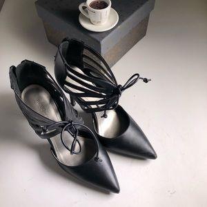 Bcbg Delphina Pump Lace Up Heels Shoes